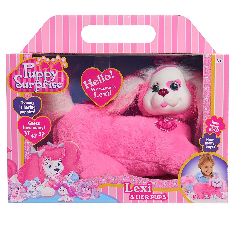 Беременная собака с щенками розовая Лекси Puppy Surprise ...