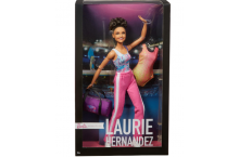 Кукла Барби коллекционная гимнастка Лори Эрнандес Barbie Laurie Hernandez 2016 Gymnast