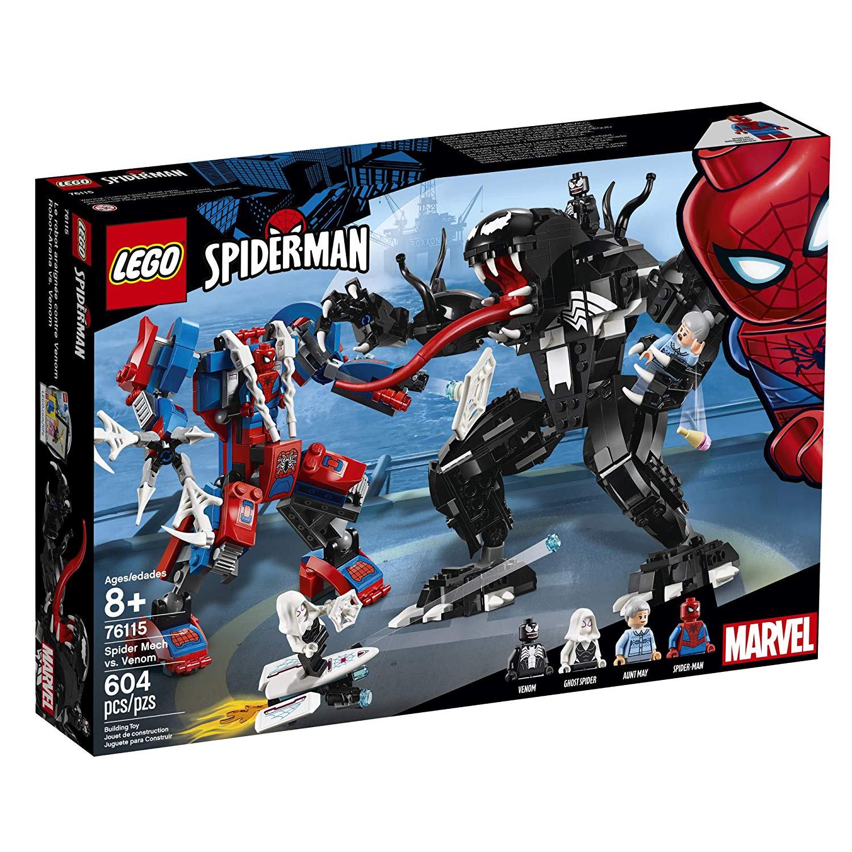 Конструктор Лего 76115 человек-паук против венома LEGO Marvel Spider Venom