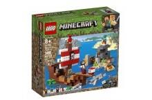 Конструктор Лего 21152 Майнкрафт пиратский корабль LEGO Minecraft Pirate Ship