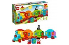 Конструктор лего дупло 10847 LEGO DUPLO Поезд Считай и играй