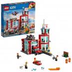 Конструктор лего сити 60215 пожарное депо LEGO City Fire Station