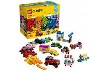 Конструктор Лего 10715 LEGO Classic Кубики и колеса 442 детали