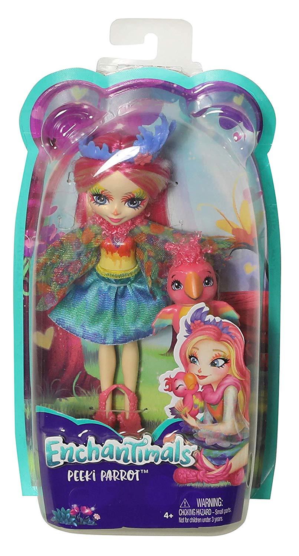 Кукла энчантималс Пикки Какаду Enchantimals Peeki Parrot