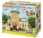 Сильваниан фемелис Школа дерево Sylvanian Families Country Tree School