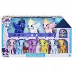 Большие пони набор 10 штук Луна Селестия Каденс My Little Pony