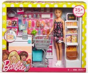 Кукла Барби набор супермаркет Barbie Supermarket Set Blonde FRP01