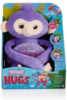 Fingerlings Monkey Hugs Kiki Интерактивная обезьянка обнимашка Кики