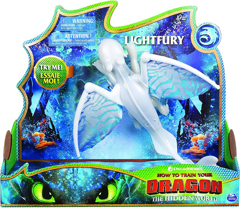 Дракон Дневная фурия со светом и звуком Lightfury Deluxe
