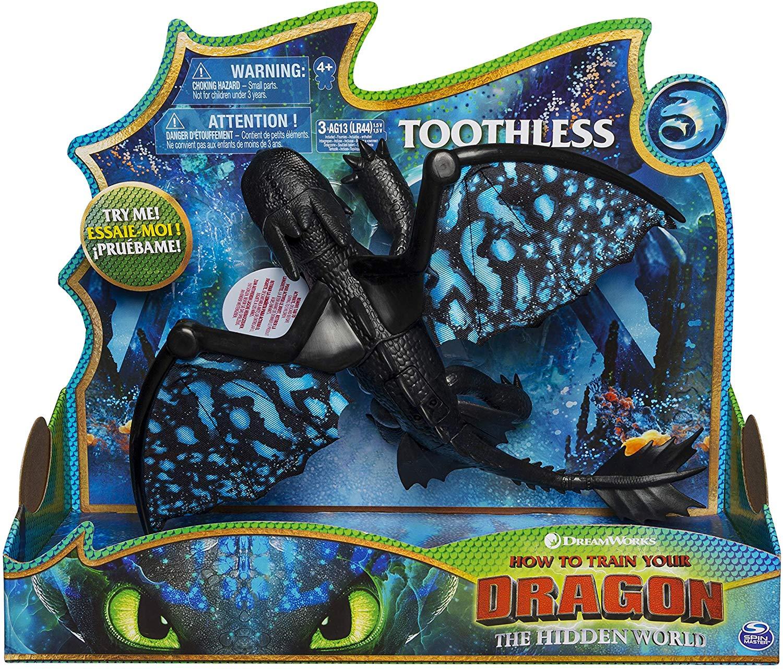 Дракон Беззубик со светом и звуком Toothless Deluxe