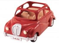 Сильваниан фемели красный автомобиль машина Sylvanian Families Family Saloon Car