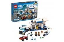 Конструктор Лего сити Мобильный командный центр LEGO City Police 60139