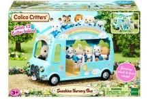 Сильваниан Фемелис автобус Sunshine Nursery Bus