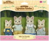 Сильваниан Фемелис Шелковые коты Sylvanian Families Silk Cat Family