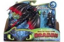 Дракон мертвая хватка и всадник Громмель Как приручить Дракона 3 Deathgripper and Grimmel