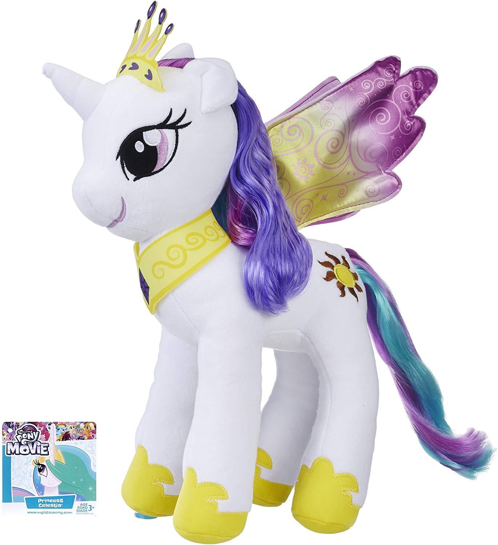 Большая пони Принцесса Селестия мягкая игрушка 33см My Little Pony Princess Celestia