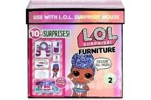 ЛОЛ стильный интерьер закулисье LOL Surprise Furniture Independent Queen