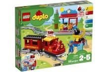 Конструктор Лего дупло поезд на паровой тяге 10874 LEGO DUPLO Steam Train