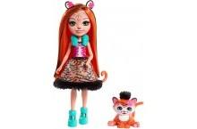 Кукла Энчантималс Тигренок Танзи Enchantimals Tanzie Tiger FRH39