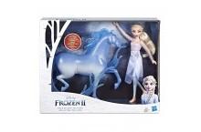 Холодное сердце кукла Эльза и конь Нокк Frozen Elsa Nokk