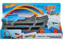 Трек-трансформер трюки и гонки Hot Wheels Stunt Go Track