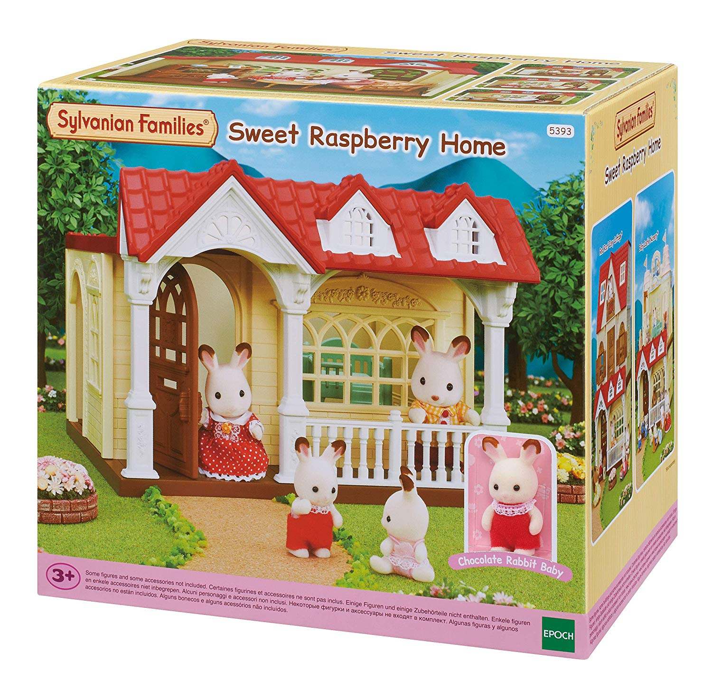 Сильваниан Фемелис Дом сладкая малина Sylvanian Families 5393 Sweet Raspberry Home