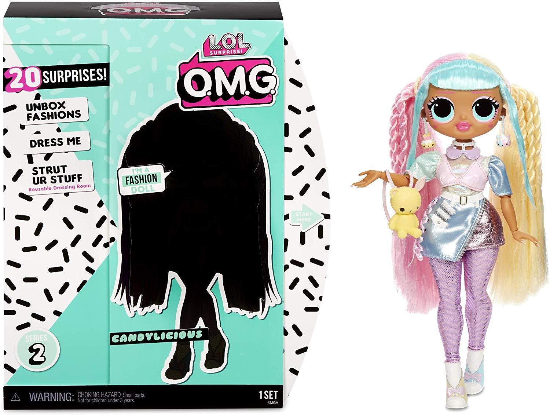 Кукла Лол большая оригинал Кендилишис LOL Surprise OMG Candylicious