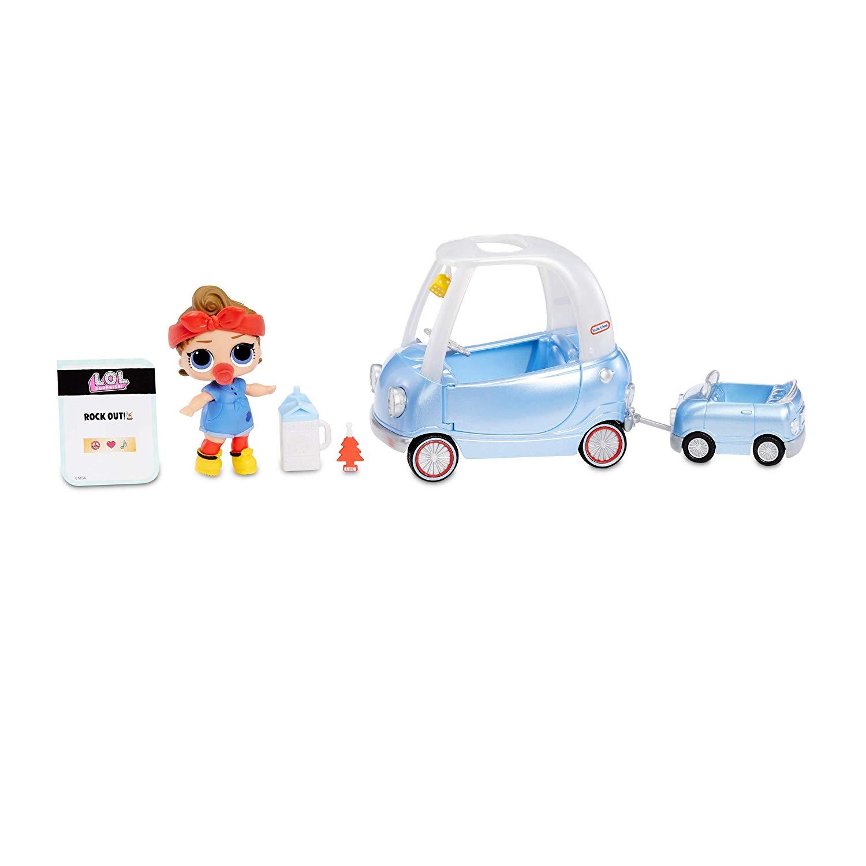 Кукла ЛОЛ сюрприз стильный интерьер машина LOL Furniture Road Trip