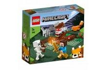 Конструктор Лего LEGO Minecraft Приключения в тайге 21162