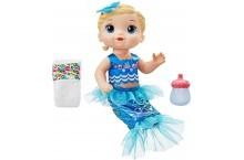 Кукла пупс сияющая русалка блондинка Baby Alive Mermaid