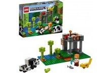 Конструктор Лего майнкрафт Питомник панд 21158 LEGO Minecraft