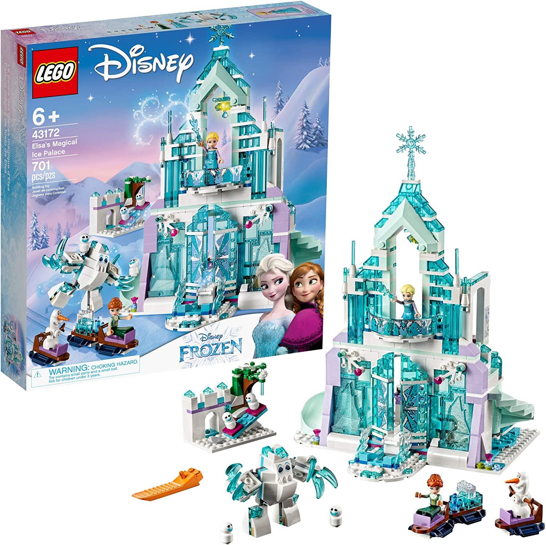 Конструктор Лего Волшебный ледяной замок 43172 LEGO Disney Frozen Elsa