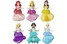 Набор принцесс с платьями клипс 6 штук Disney Princess Royal Clips