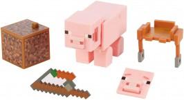 Фигурка майнкрафт свинка Minecraft Comic Maker Pig