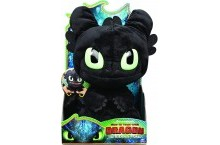 Беззубик дракон рычащий Dreamworks Dragons Squeeze Roar Toothless