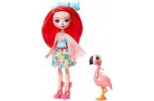 Кукла Энчантималс Фламинго Фэнси Флэминг и Свош Enchantimals GFN42 Fanci Flamingo