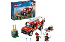 Конструктор Лего сити 60231 Грузовик начальника пожарной охраны LEGO City Fire Truck