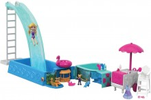 Полли покет Сюрприз в бассейне Polly Pocket Splashtastic Pool Surprise