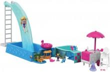 Полли покет Сюрприз в бассейне Polly Pocket Splashtastic Pool Surprise