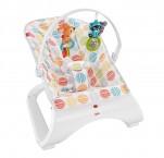 Детский шезлонг кресло качалка фишер прайс Fisher-Price Comfort Curve Bouncer