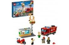 Конструктор Лего 60214 LEGO City Пожар в бургер-кафе