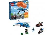 Конструктор LEGO City 60208 Воздушная полиция Арест парашютиста