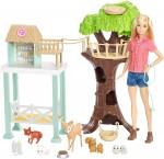Кукла Барби Центр ухода за животными Barbie Animal Rescue Center