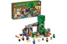 Конструктор Лего Майнкрафт Шахта крипера 21155 LEGO Minecraft The Creeper Mine