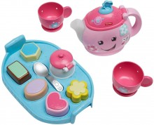 Fisher-Price Sweet Manners Tea Фишер Прайс музыкальный чайный набор сладкие манеры