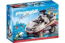 Конструктор плеймобил машина амфибия PLAYMOBIL City Action 9364 Amphibious