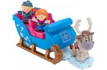Холодное сердце сани Кристоффа и Анны Disney Frozen Kristoff Sleigh Little People