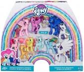 Май литтл пони набор 11 штук Селестия Ночная пони Каденс Спайк My Little Pony
