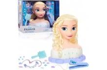 Манекен Эльза для причесок большой Deluxe Elsa Styling Head