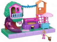 Полли покет Полливиль детская площадка Polly Pocket Pollyville Playground